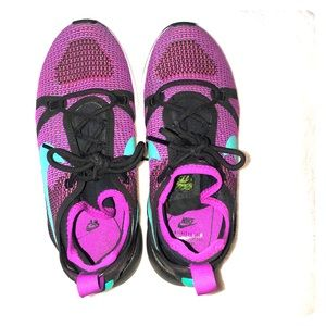 New running shoes! Purple and teal